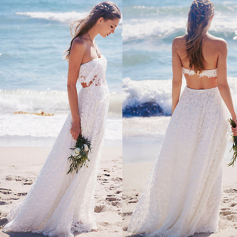 wedding dress 2017 vintage wedding dress lace wedding dress beach wedding dress simple beautiful wedding dress custom made wedding dress