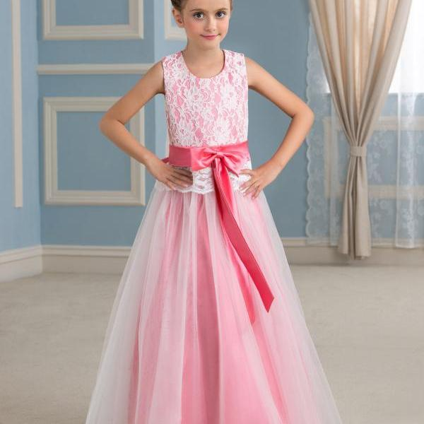 Cute Little Girl Dress ,Princess Girl Dress , Flower Girl Dresses For Wedding , Lovely Communion Dresses , Girls Pageant Dresses , First Communion Dresses for Girls 2016